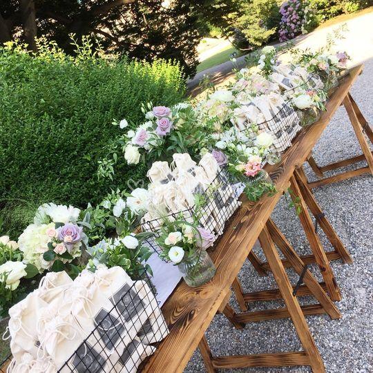 Tavolo wedding bag