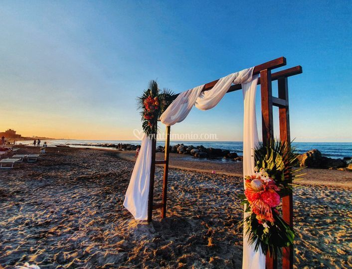 Arco per cerimonia