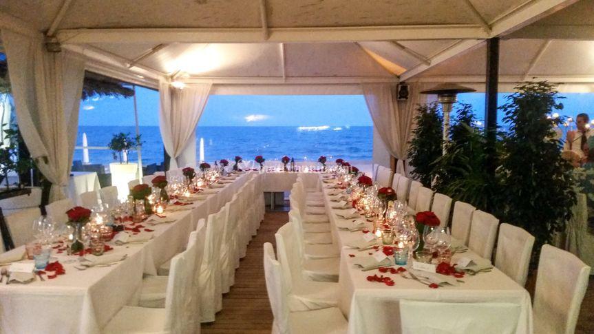 Matrimonio in riva la mare