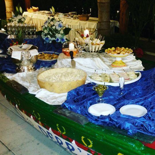 Dettaglio buffet