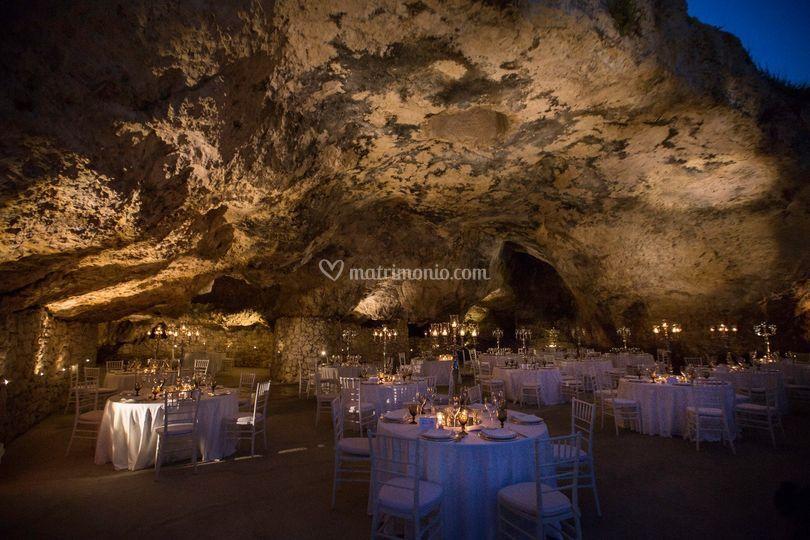 Allestimento grotta