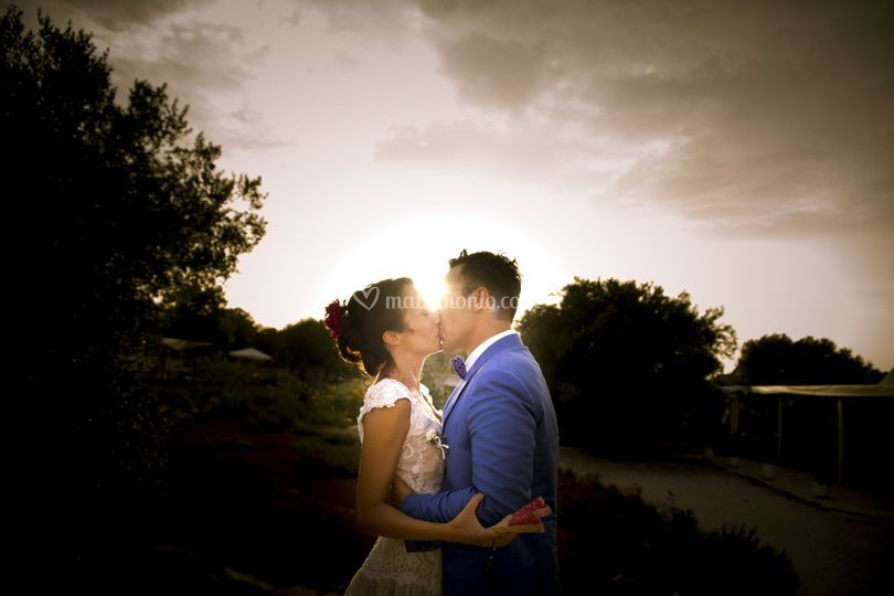 Kiss at the Sunset