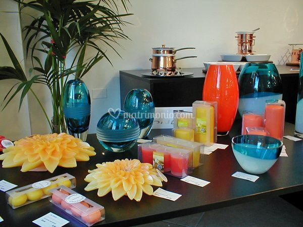 Candele d'arredamento Cereria Pernici - Vasi in vetro Onlylux