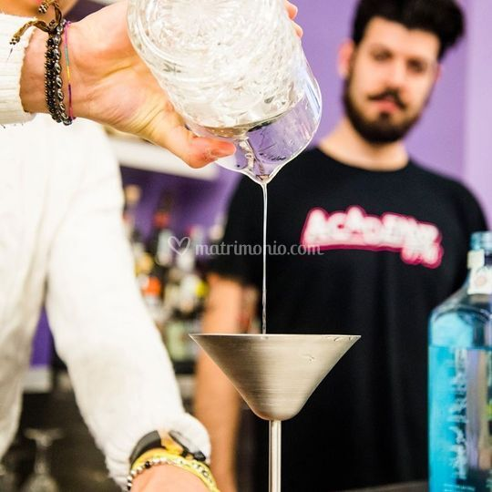 Cocktails - Work Up