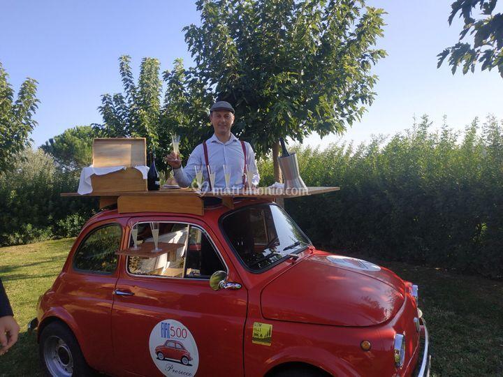 Fiat 500 prosecco