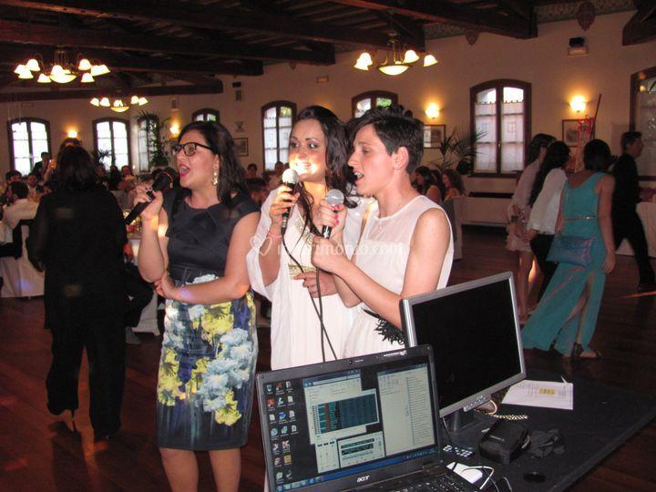 Cantanti al matrimonio