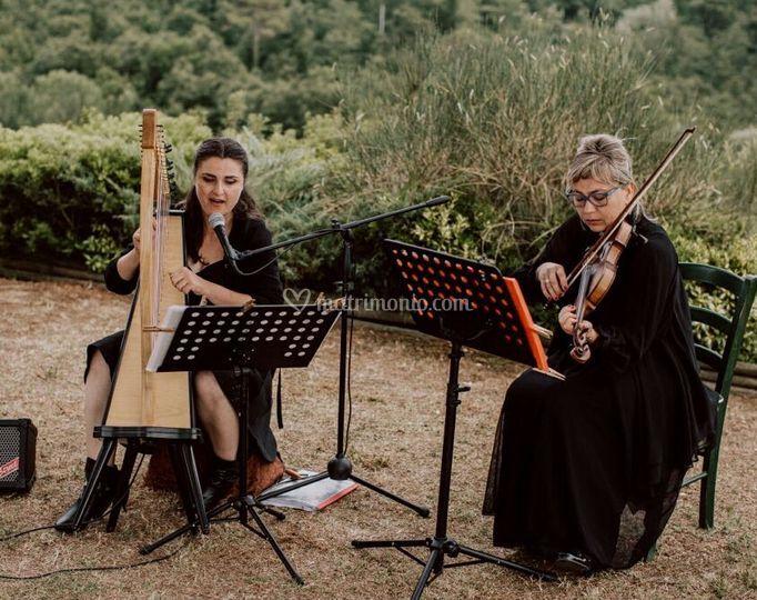 Duo Lakmé - Arpa e violino