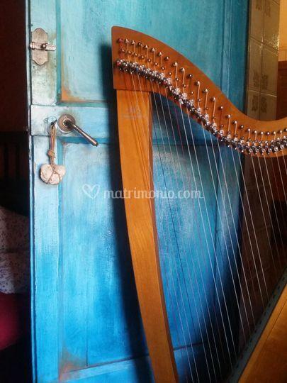My beautiful celtic harp