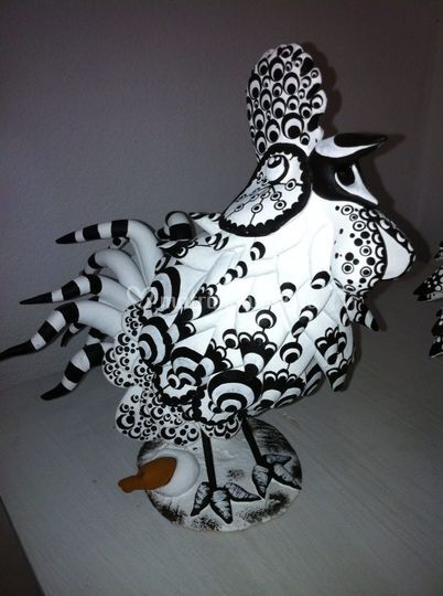 Gallo stilizzato