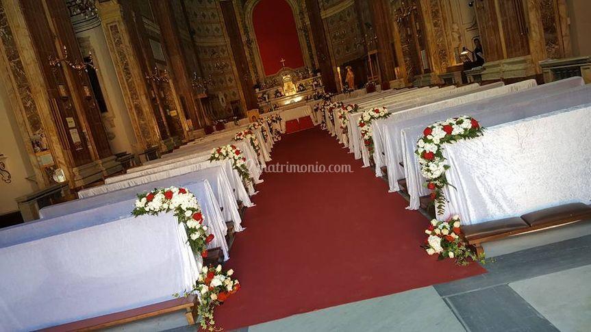 Addobbo in Chiesa