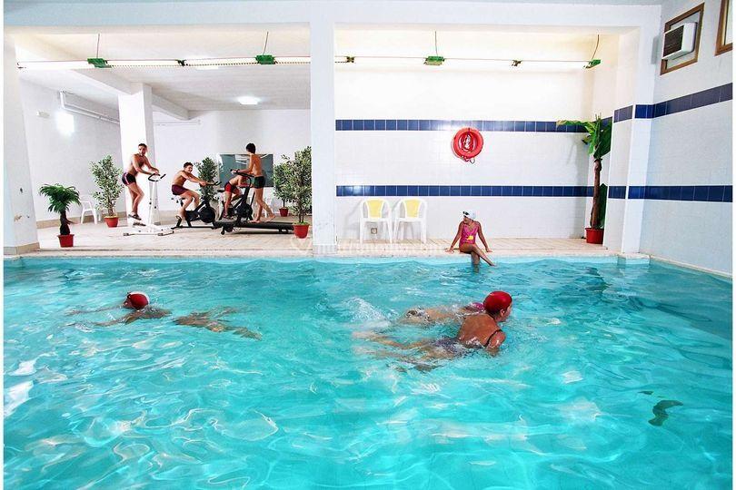 Hotel Tre Torri: piscina coperta