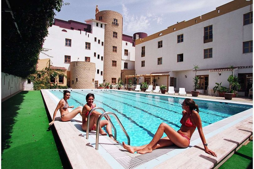 Hotel Tre Torri: piscina esterna