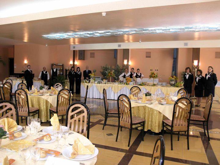 Hotel Tre Torri: sala ristorante