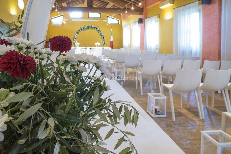 Sala interna rito