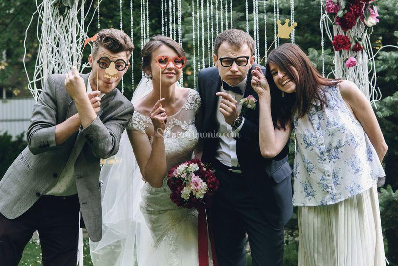 Sposi e photobooth