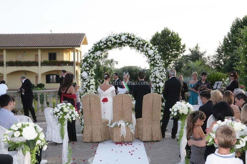 Matrimonio civile - Ristorante il Focarile