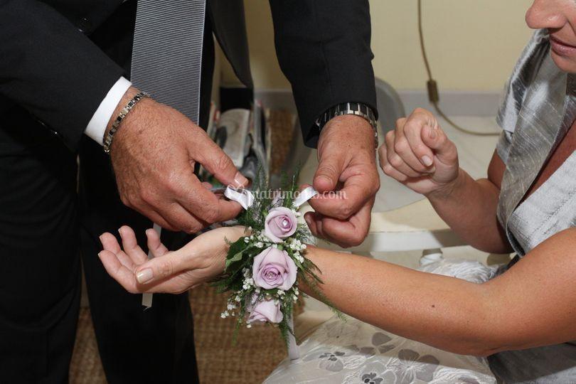 Nozze d'argento - braccialetto