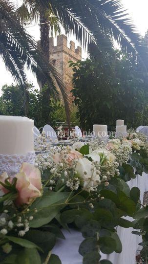 Torcion tavolo sposi