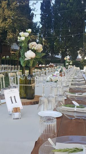 Tavolo imperiale country chic