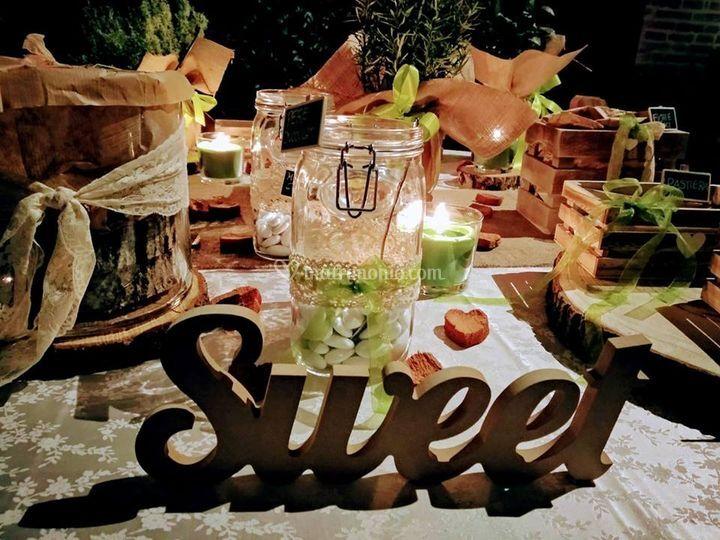 Dettaglio sweet table