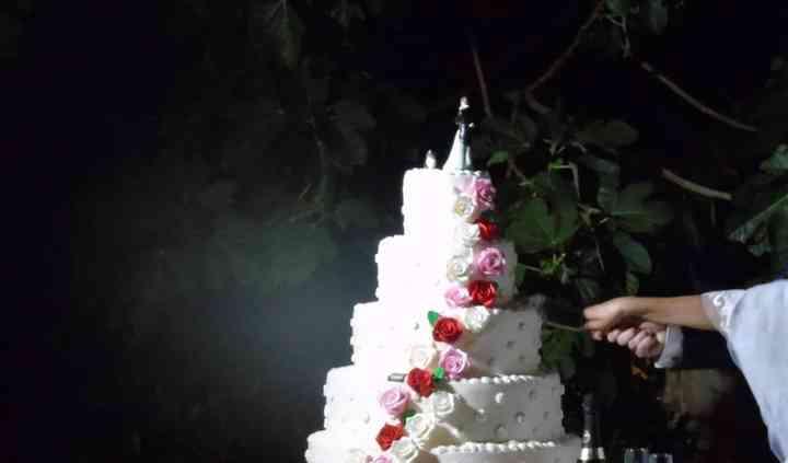 Chic cake personalizzata