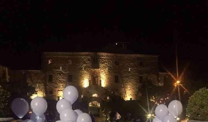 Torta Sogno in un castello 1