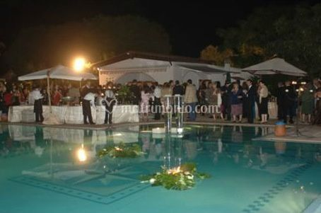 Grandi eventi a bordo piscina
