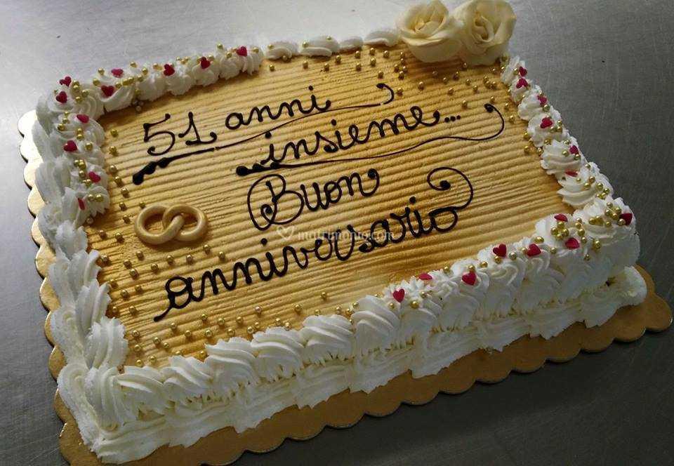 Anniversario Di Matrimonio 51 Anni.Anniversario Di Matrimonio Di Panetteria Pasticceria Capobianco