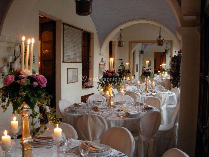Tavoli con candele