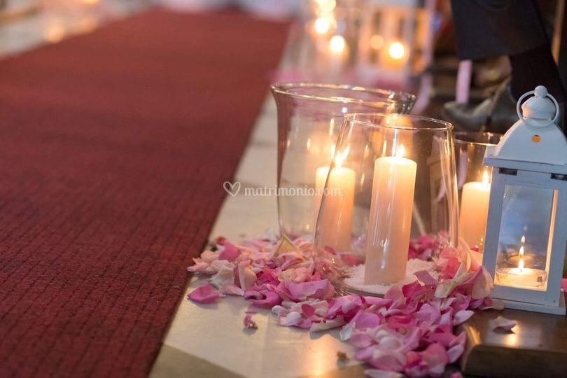 L'atmosfera delle candele