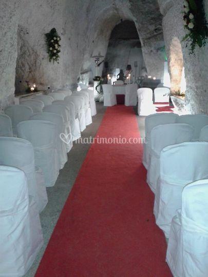 Cerimonia in grotta