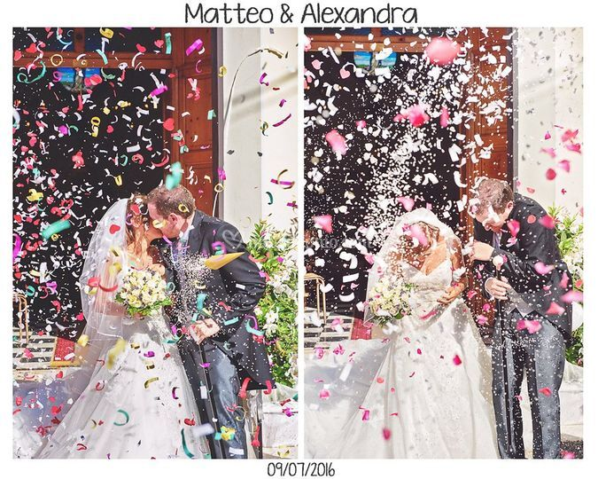 Alexandra matteo wedding