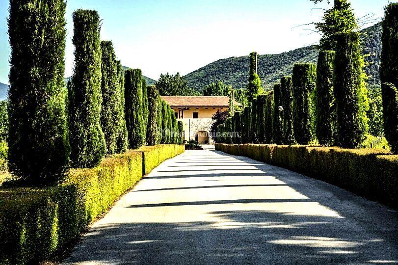 Villa paolina - entrata