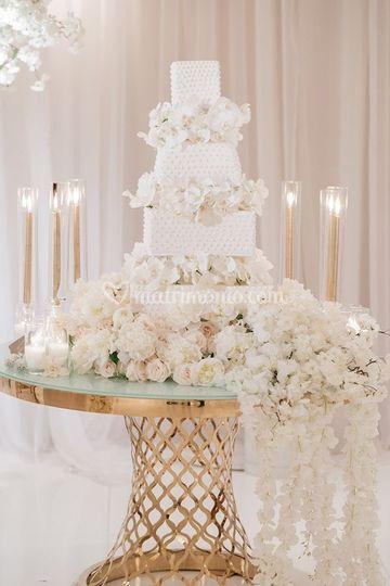 Addobbo tavolo nunziale
