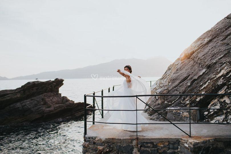 Wedding in Zoagli