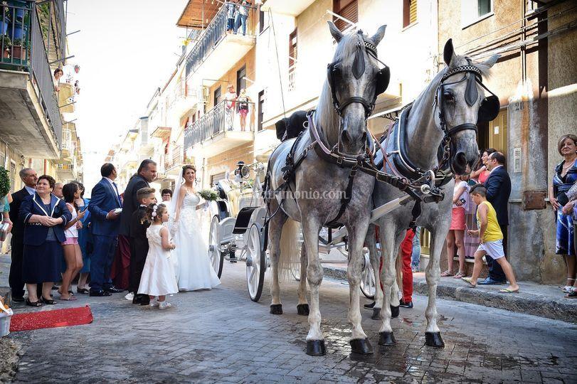 Accompagniamo la sposa