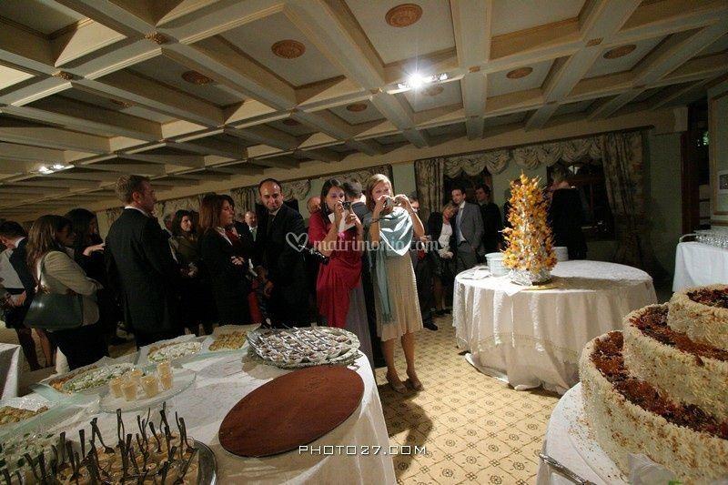 Sala scuderie - Buffet dolci