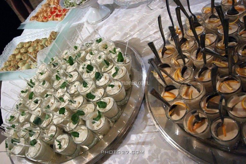 Dettaglio buffet dolci
