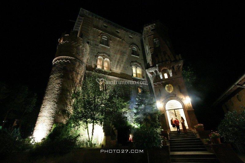 Castello illuminato
