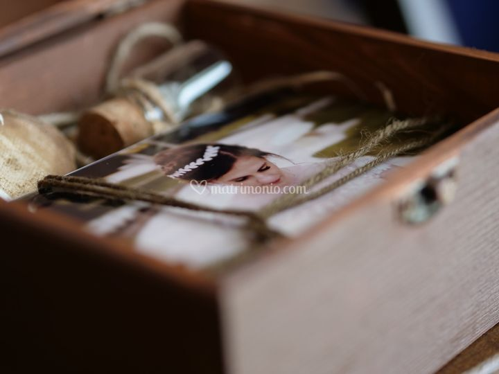 Wedding packaging brown