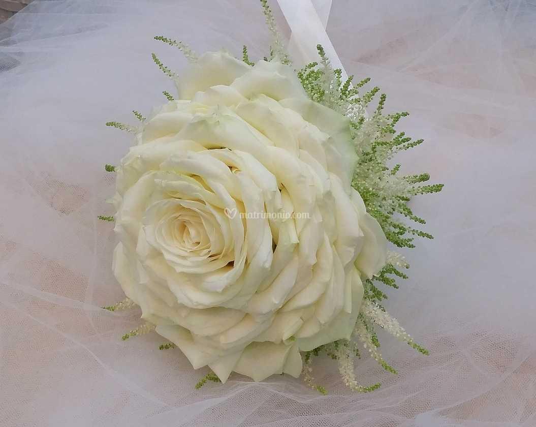 Bouquet Sposa Napoli.Bouquet Da Sposa Rosone Di Fiorista Napoli Di Roberto Di