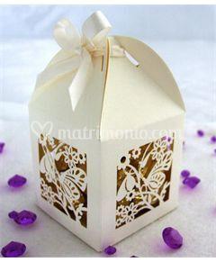 Elegante e traforata scatoletta