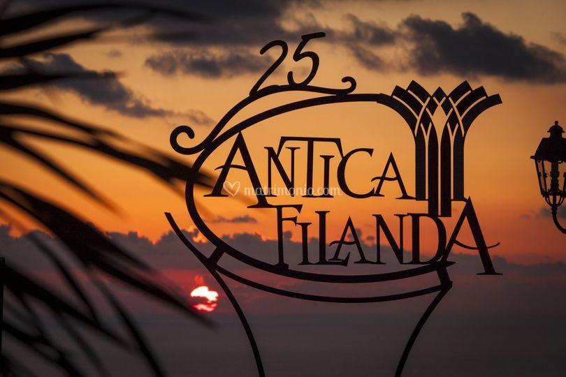 Il tramonto all'Antica Filanda