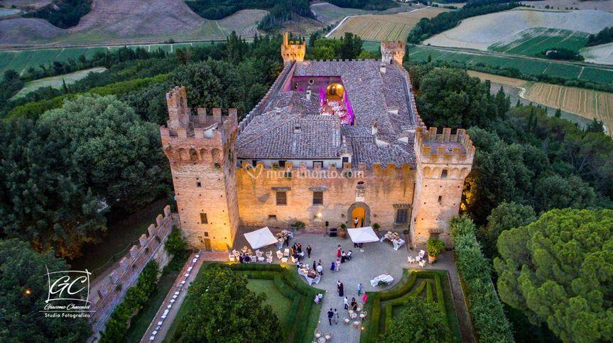 Castello dall'alto