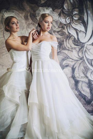Abiti Foglio Bianco Wedding