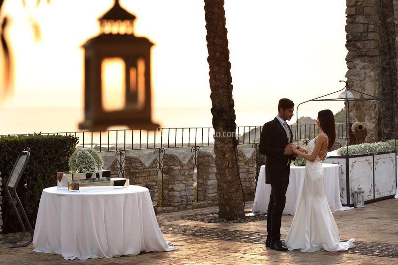 Esterno patio sposi