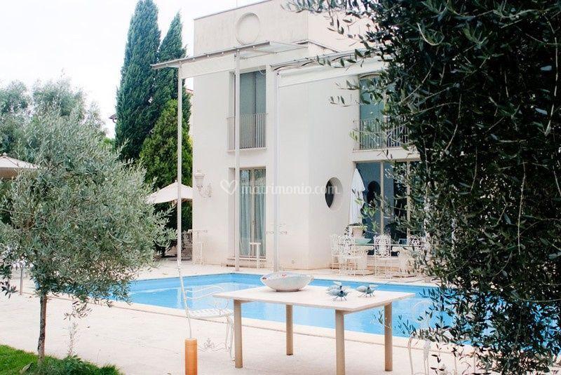 Villa norma for Esterni ville