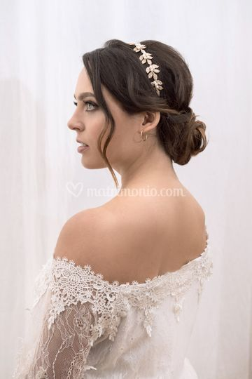 Makeup & hairstyle for Sofia