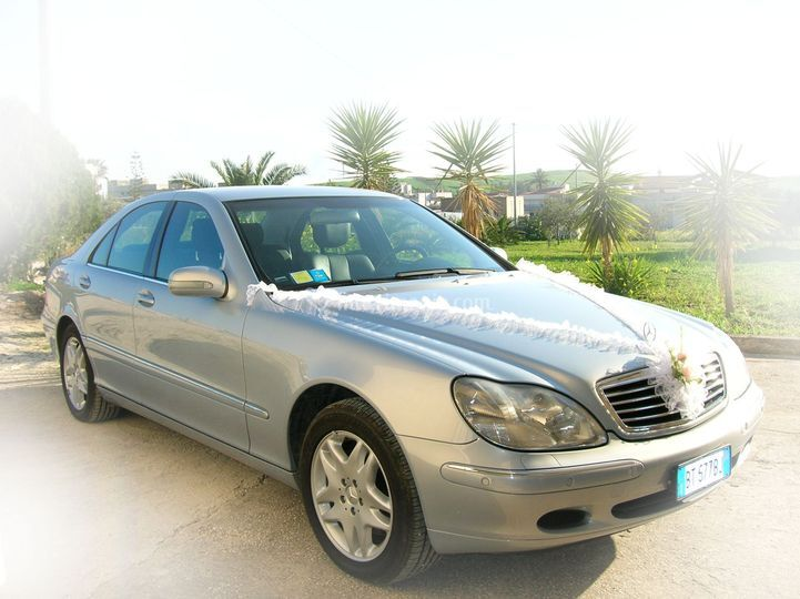 Mercedes classe S fronte