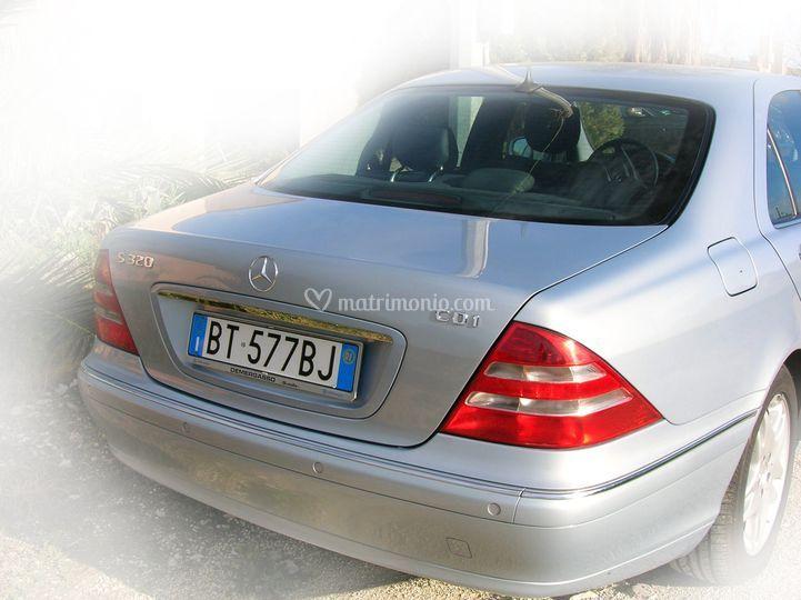 Mercedes classe S retro